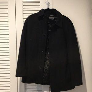 Perry Ellis Black Pea Coat
